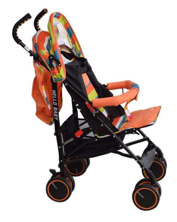 Comfort Baby Stroller - Orange