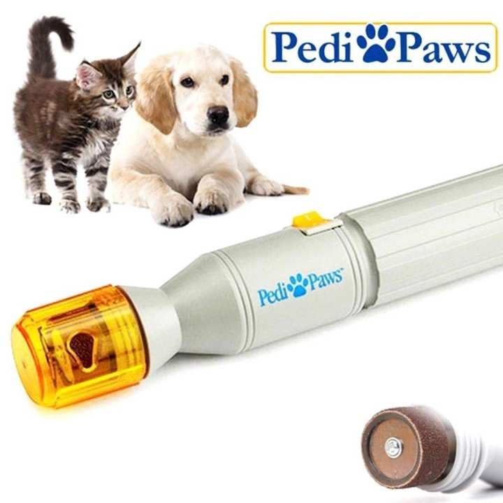 Pedi Paws Nail Trimmer Grinder For Pet Dog and Cat
