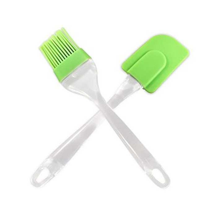 Silicon Brush And Spatula