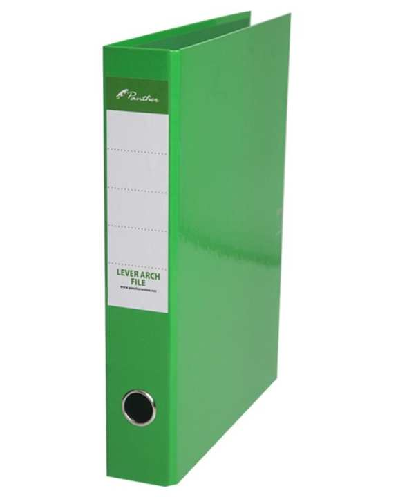 Box Files 50mm  Laminated F4 - Light Green