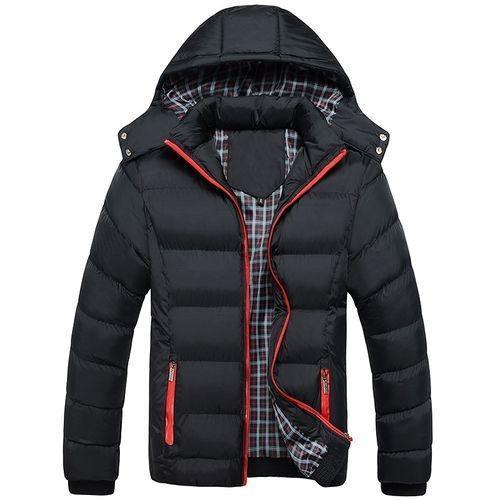 Bluelife Winter Hooded Zipper Down Jacket Coats