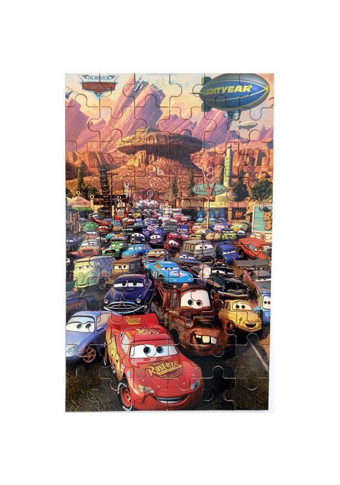 Cartoon 3D Puzzle with Iron Box - 60Pcs
