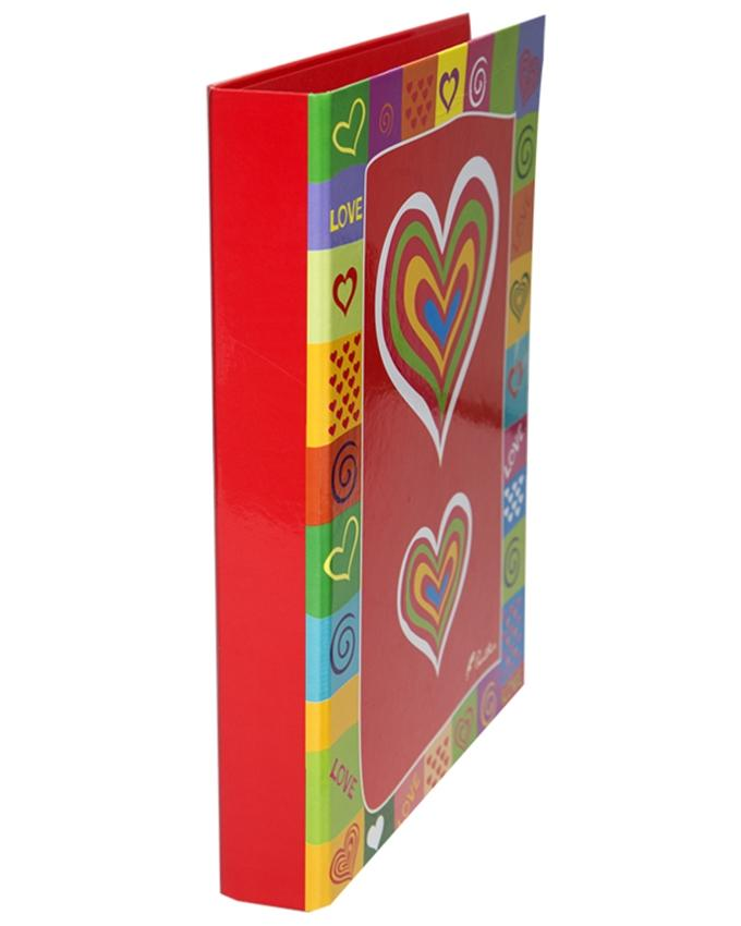 2 Ring Laminated Files - A4 - Valentine