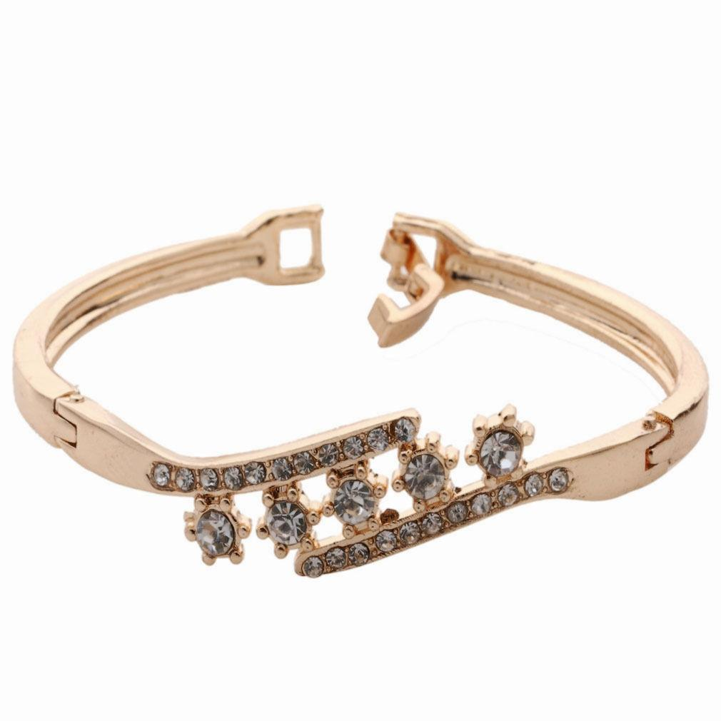 Women's Gold Plated Bangle