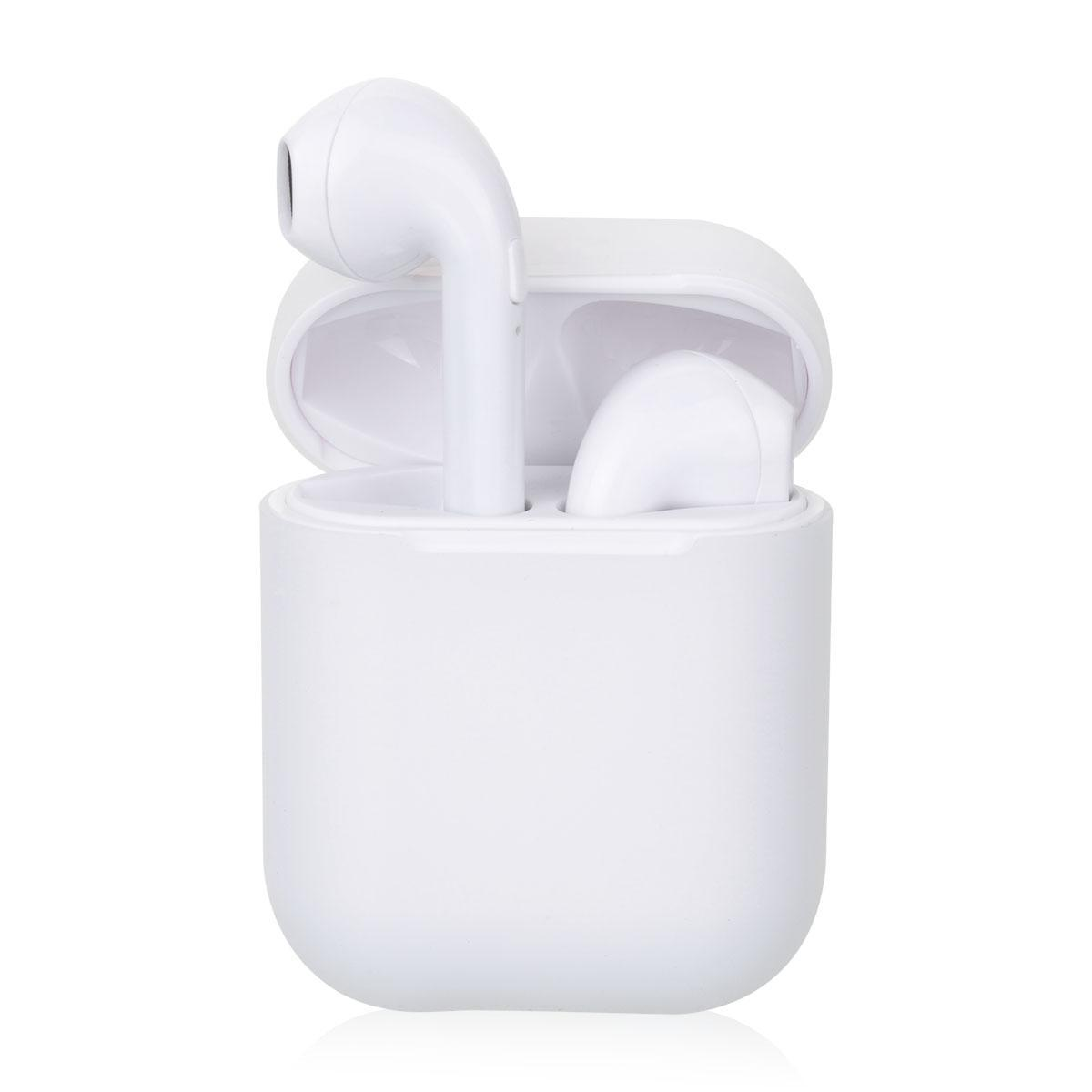 X8 TWS Mini Wireless Bluetooth Stereo Earphone Air Pods Earbuds with Charging Box - White