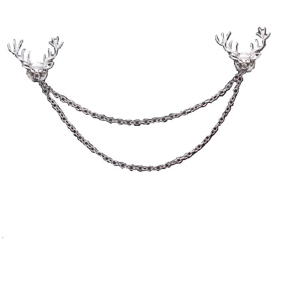 Women's Reindeer Collar Chain/Brooch
