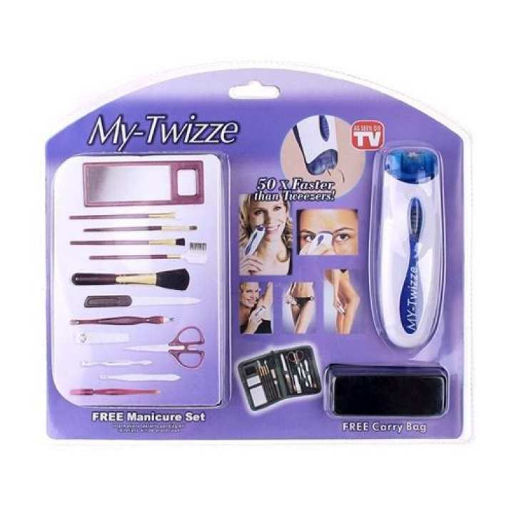 Hair Remover With Free Manicure Set