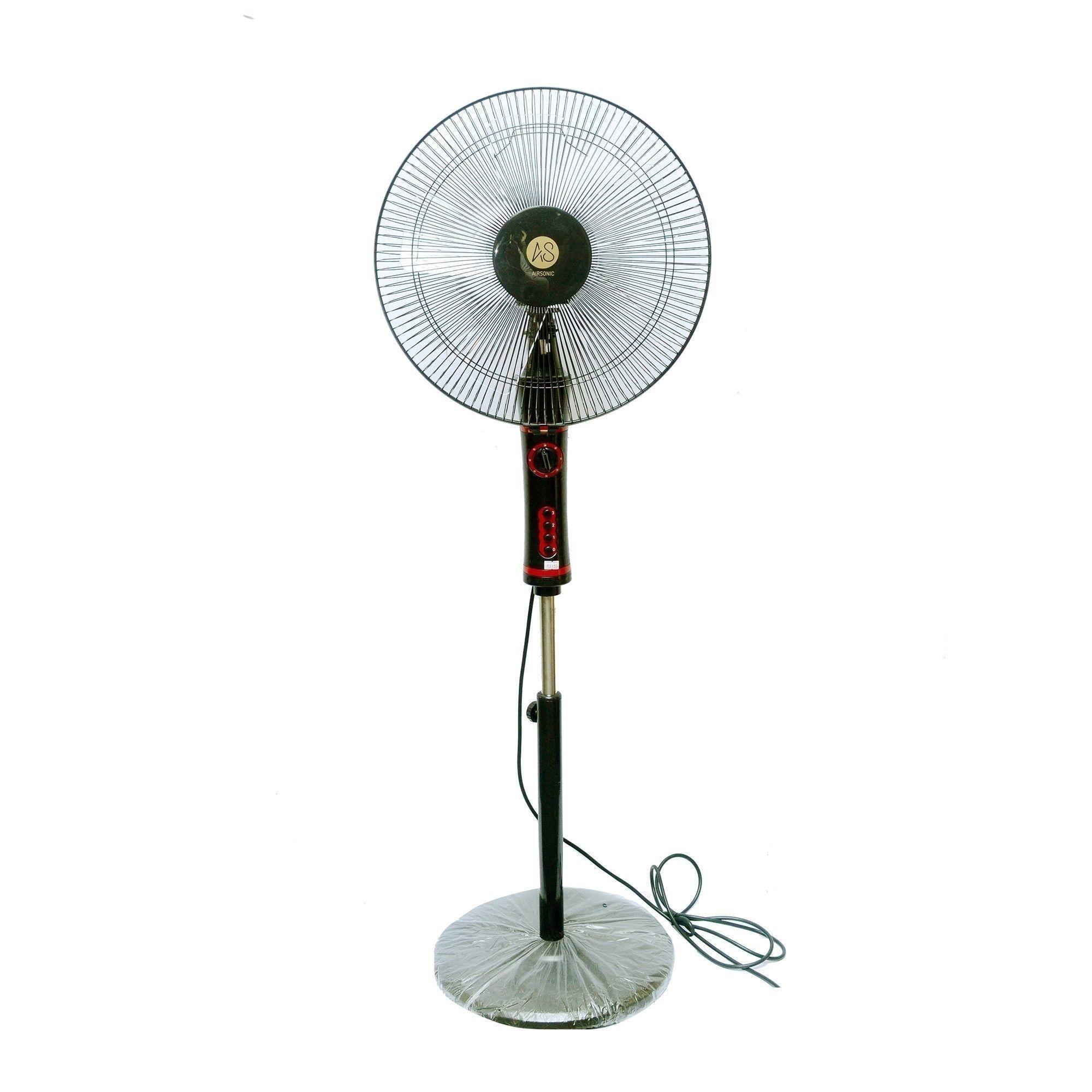 Pedestal Fan - TS414 (Black)