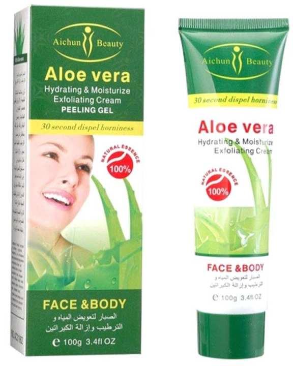 Aichun Beauty Alove Vera Hydrating & Moisturize Exfoliating Cream Peeling Gel Face & Body