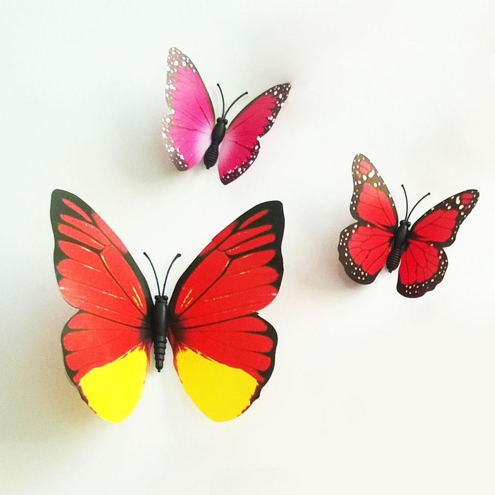 Butterfly Wall Stickers - 12 PCS
