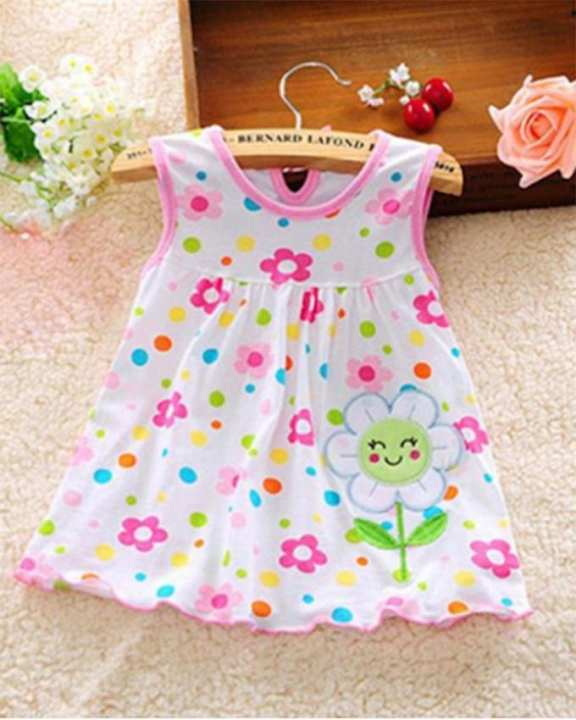 Baby Gown for Baby Girls - Flower