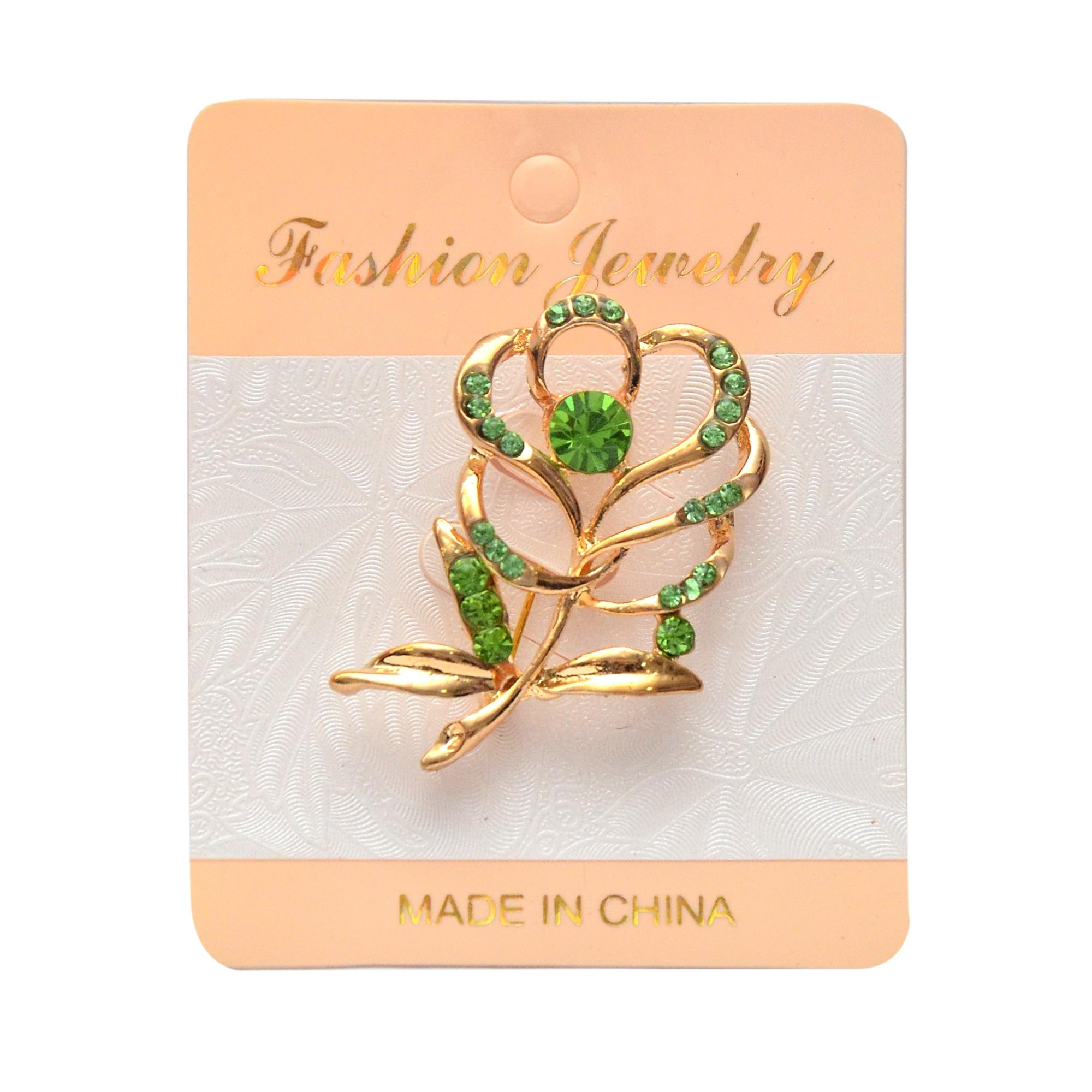 Women's Gold Plated Brooch