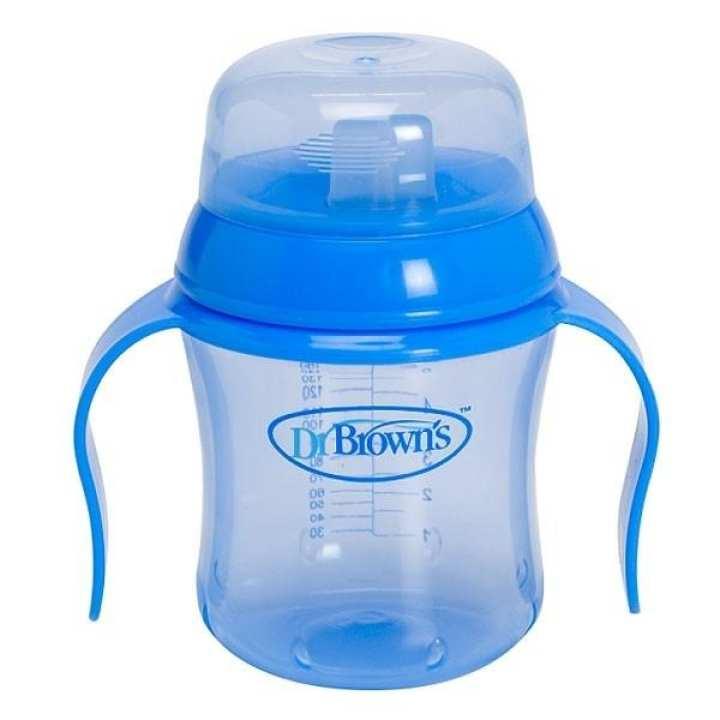 Babies 180ml Spout Blue Training Cup