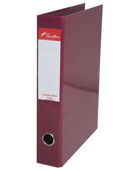 Box Files 50mm  Laminated F4 - Maroon
