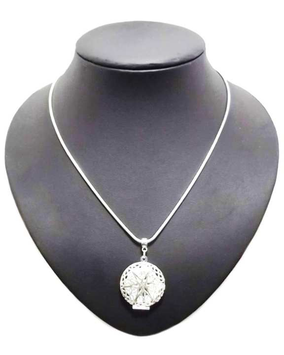 Women's Portia Silver Pendant Necklace