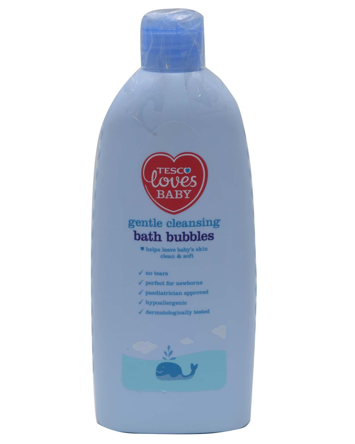 Baby's Gentle Cleaning Bath Bubbles - Blue