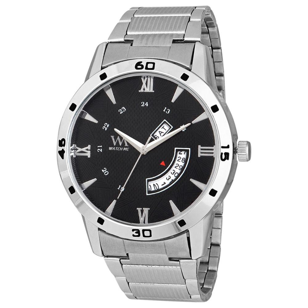 WatchMe High Quality Stainless Steel  Watch For Men, For Casual And Party Wear