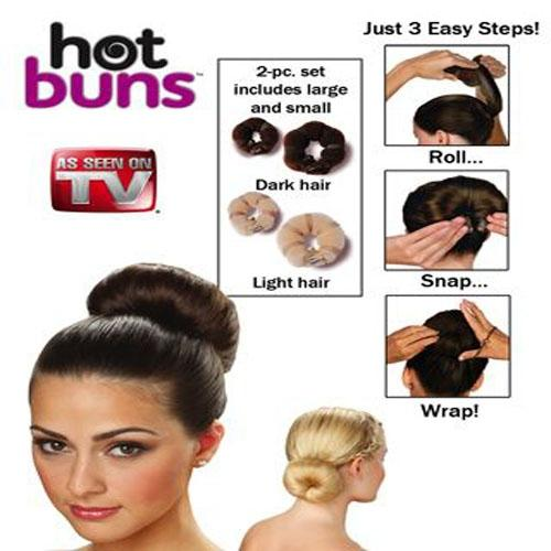 Hot Buns Styling Solution Set
