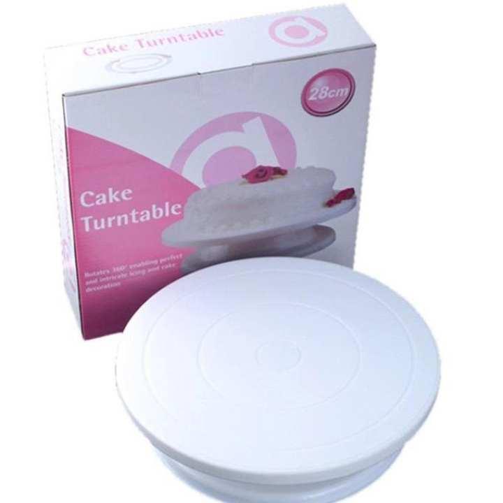 Cake Icing Turntable/Rotating Stand