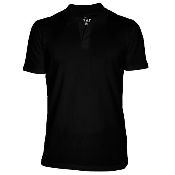 Bear Appeal Black Polo T-Shirt