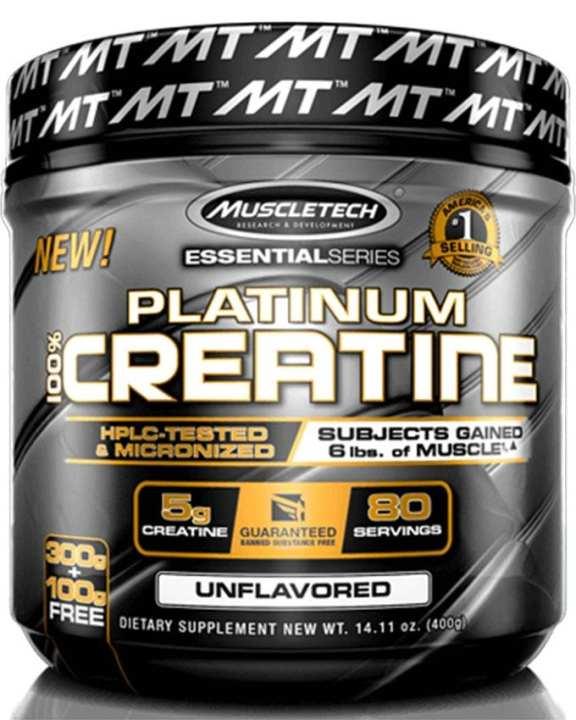 Platinum Creatine 80 Servings - 400g/80 Servings - No Flavour