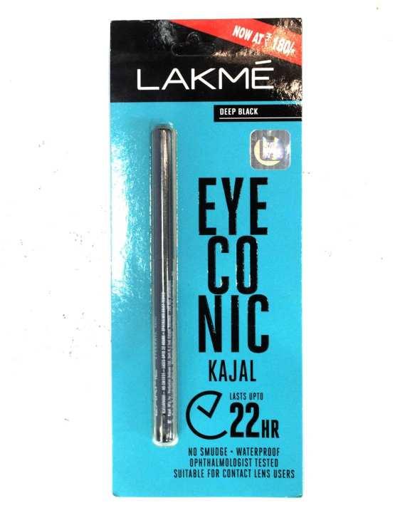 Eyeconic  Kajal  -  Deep  Black