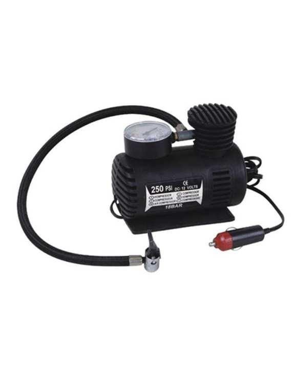 Car Vehicle Air Compressor 250 PSI Inflator  Bicycle Tyre Pump