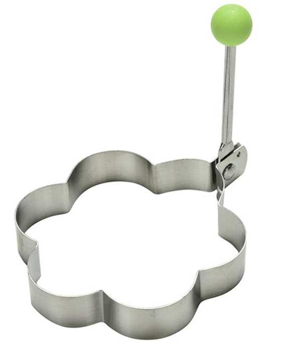 Egg Mold Stainless Steel Pan Cake Ring - Flower