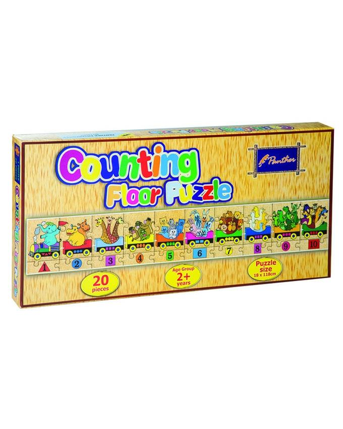 Counting Floor Puzzle