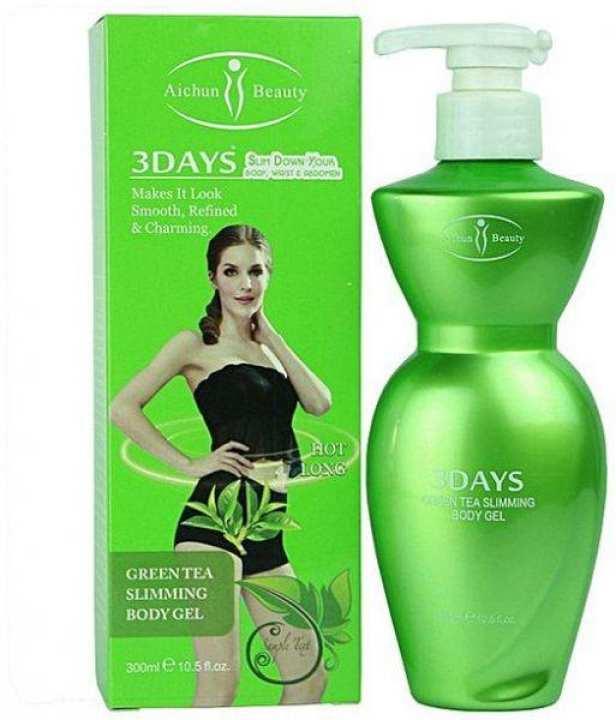 green tea slimming body gel