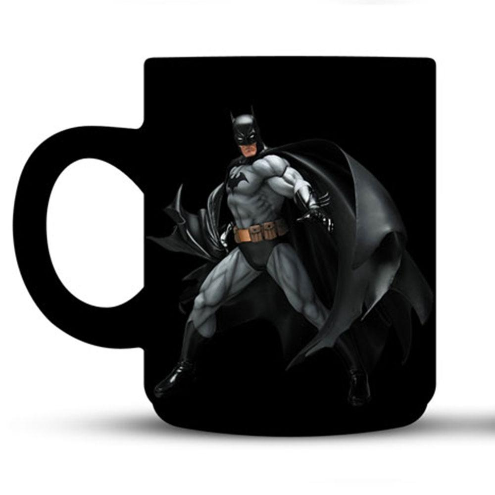 Superhero Ceramic Mug - Black