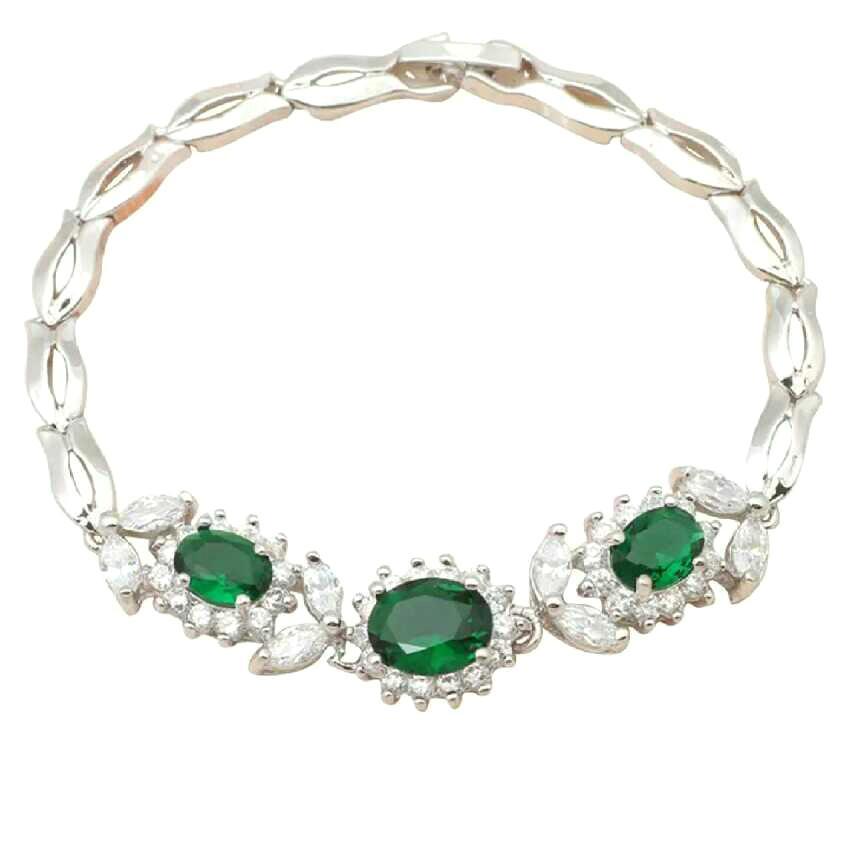Emerald Bracelet for Ladies