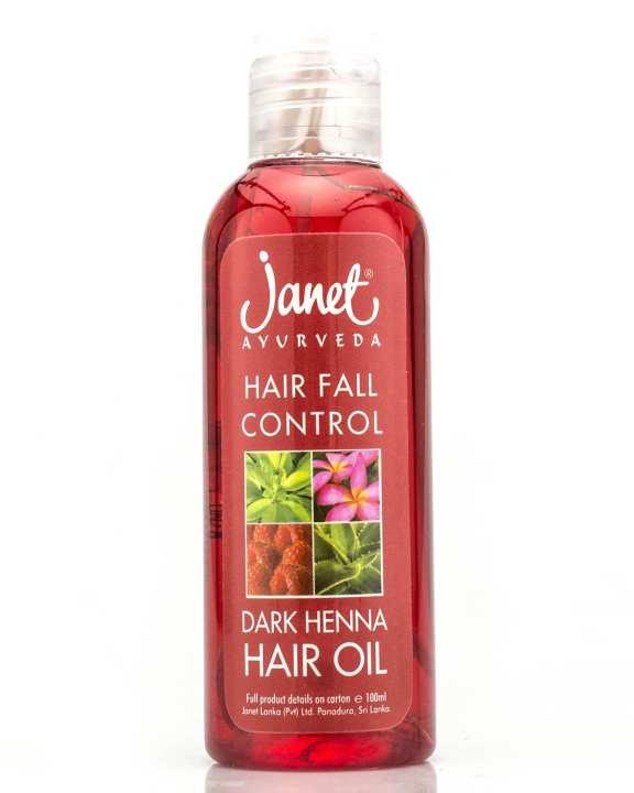 Dark Henna Hair Oil  100ml