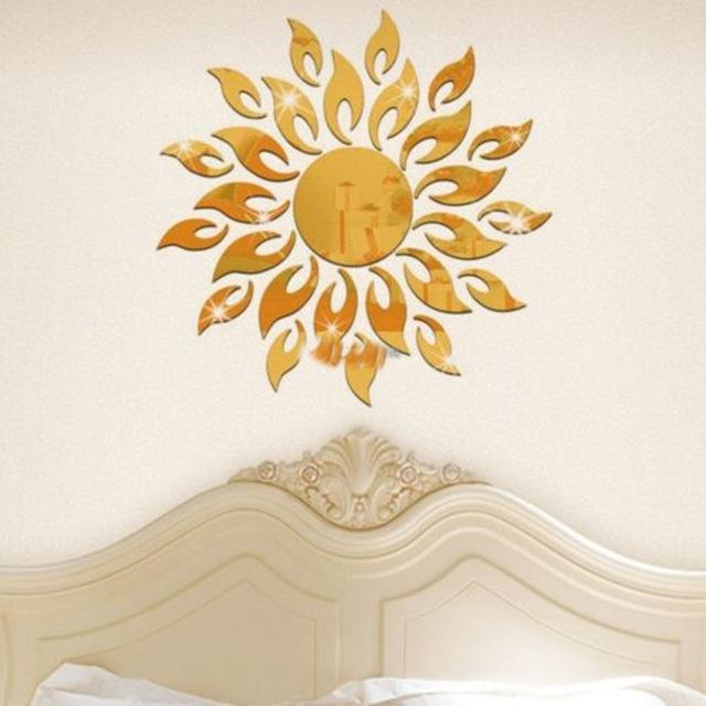 Sun Mirror Wall Sticker