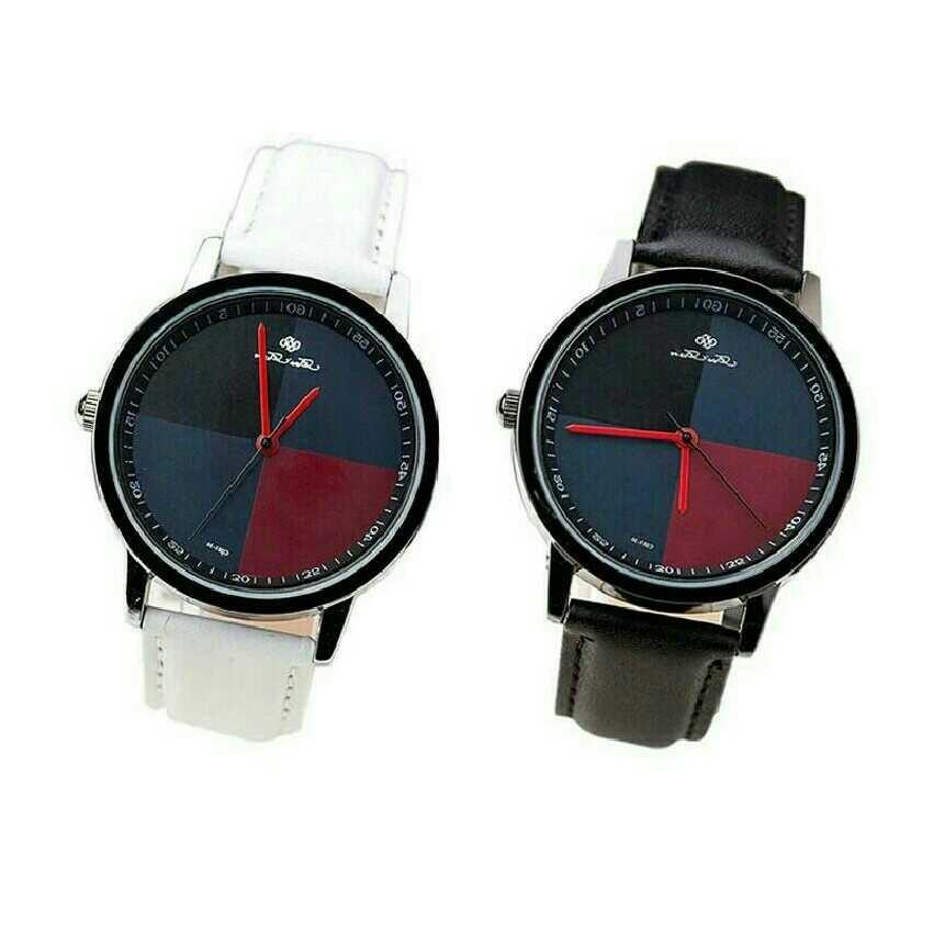 Pack Of 2 Men's Square Analog Watches