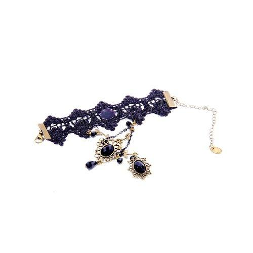 Women's BlackLace Hand Chain