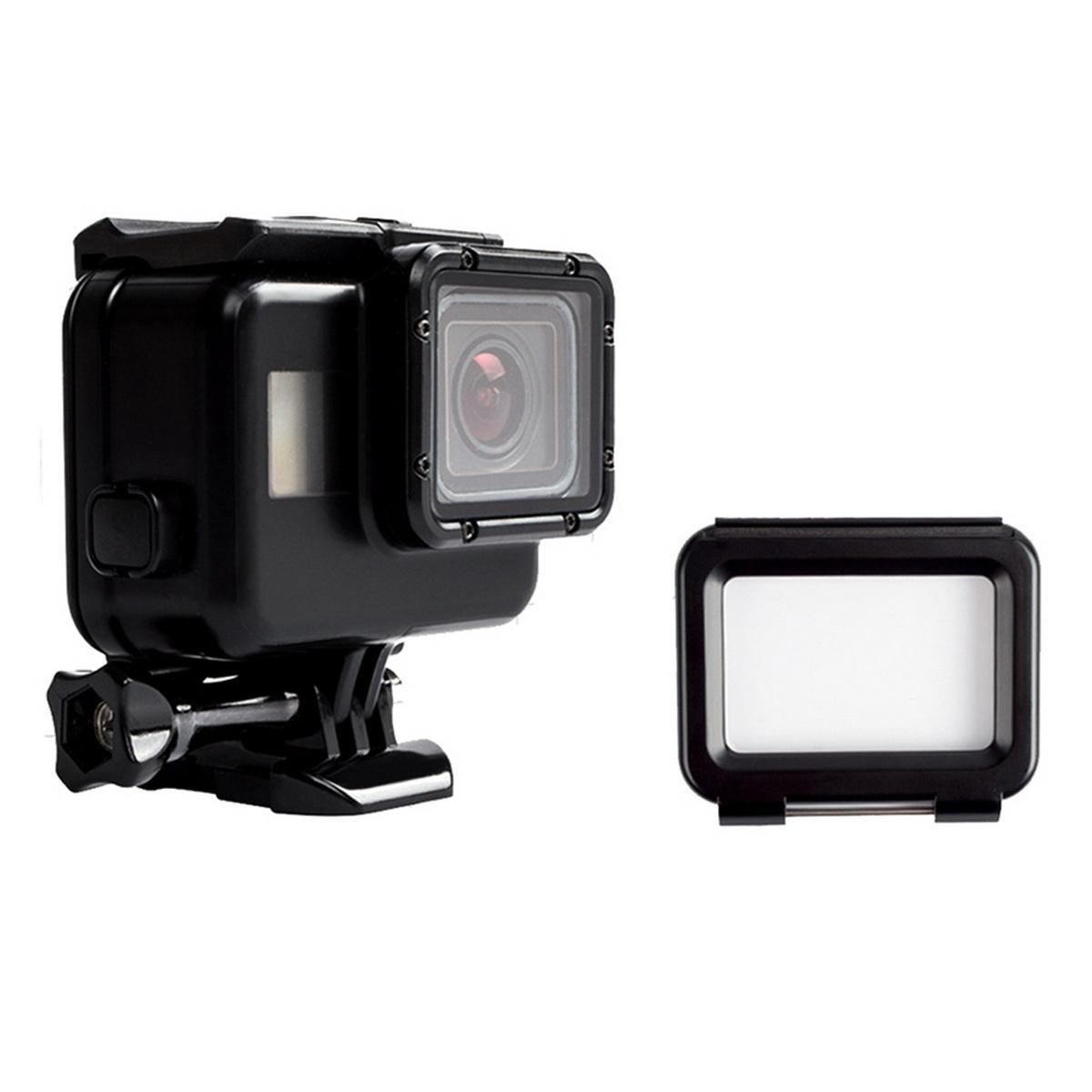Waterproof Housing Case + Touch Screen Backdoor Cover For Gopro Hero 5