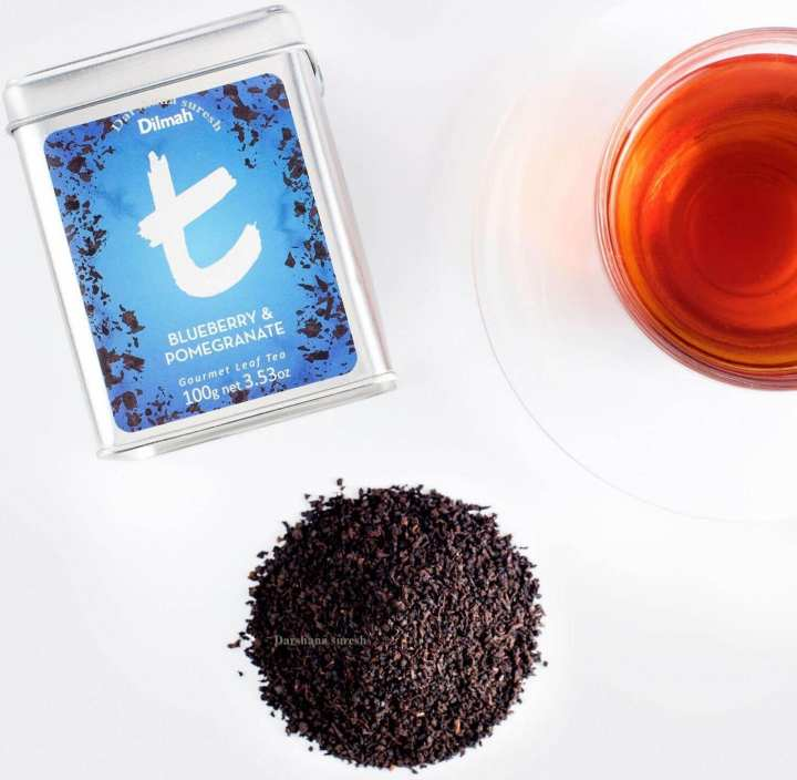 Dilmah Blueberry and Pomegranate Tea