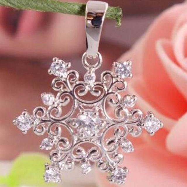 Women's Silver Plated Pendant