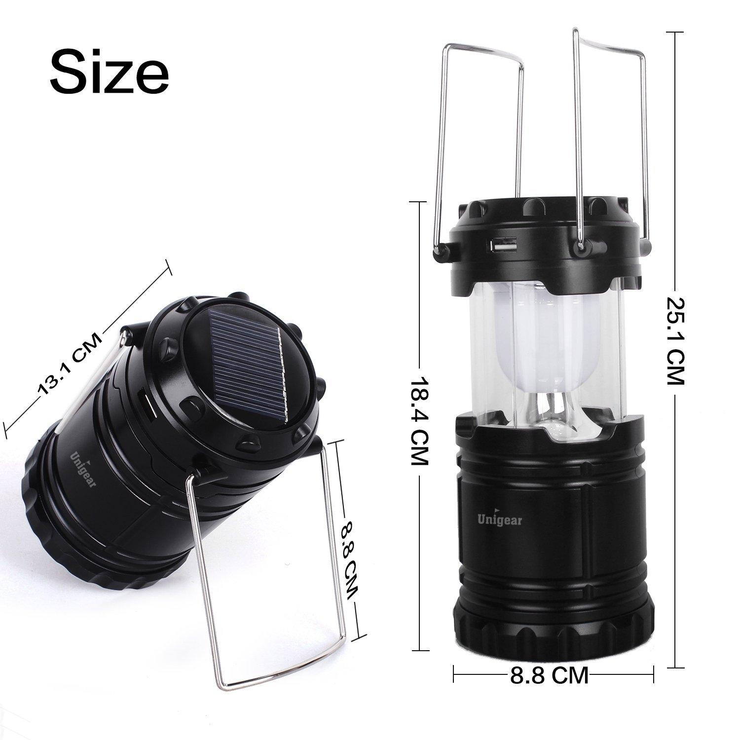 Collapsible Solar Rechargeable Lantern