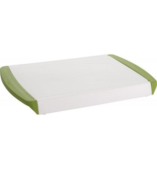 Chop 'N Clear Cutting Board with Retractable Drawer