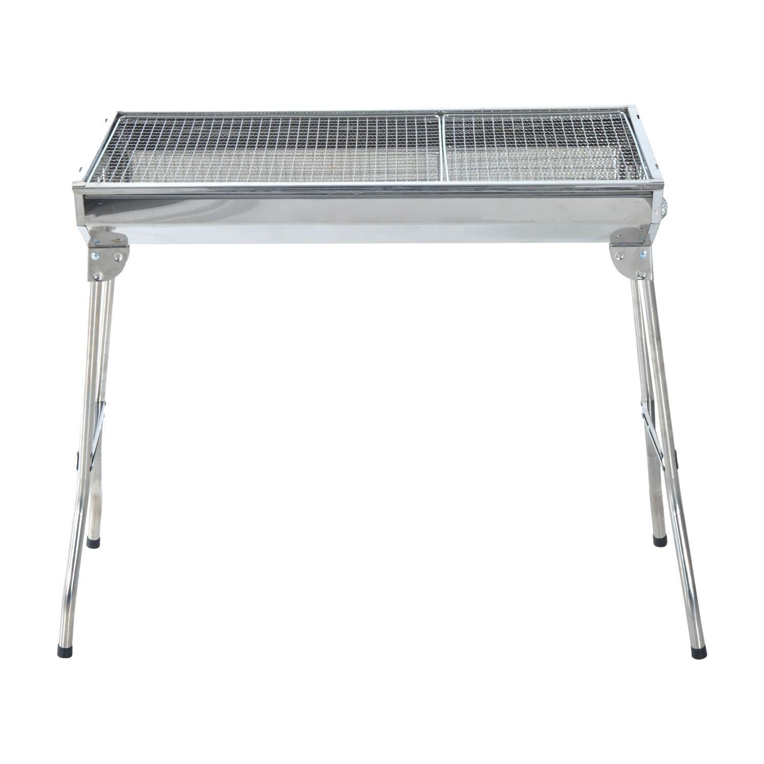 Stainless Steel BBQ Grill Machine (L)