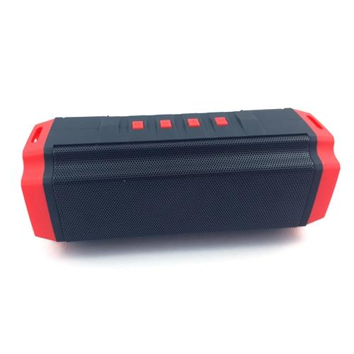 Mini Portable Wireless Stereo Speaker with Red Border