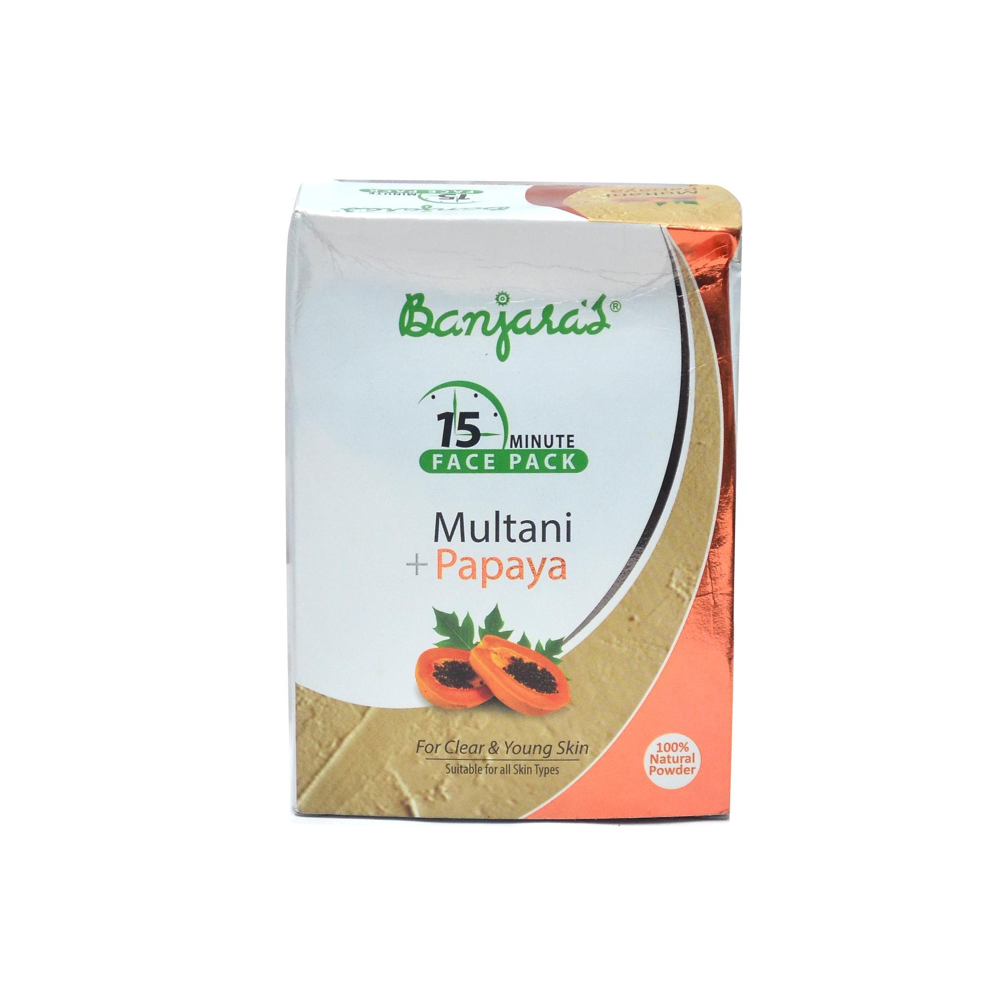 Multani papaya Face Pack