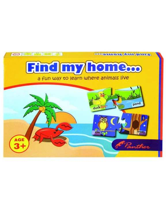 Find My Home Puzzle