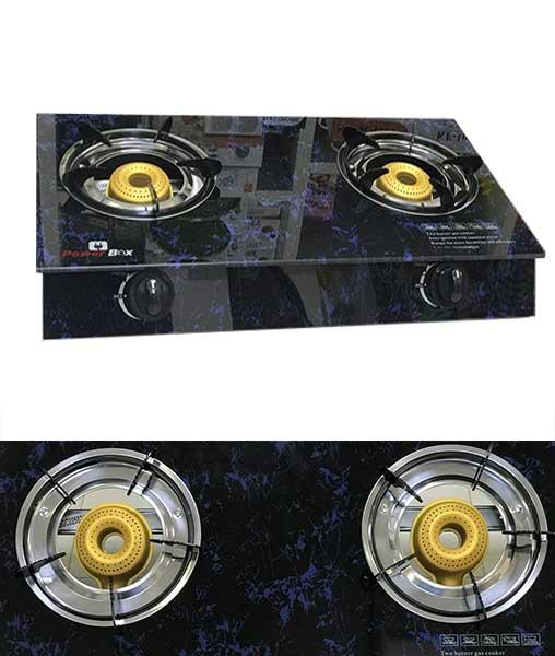 Powerbox Glass Top Gas Cooker