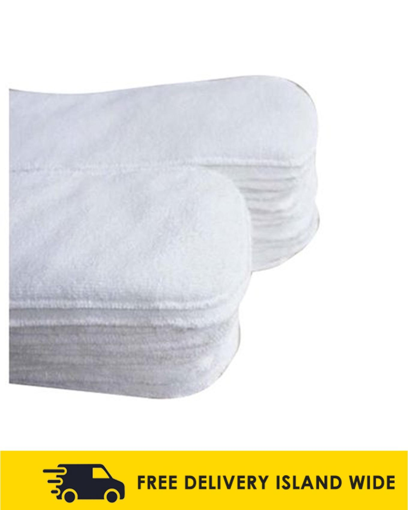 Pack of 5 Reusable Inserts & Nappy Liners