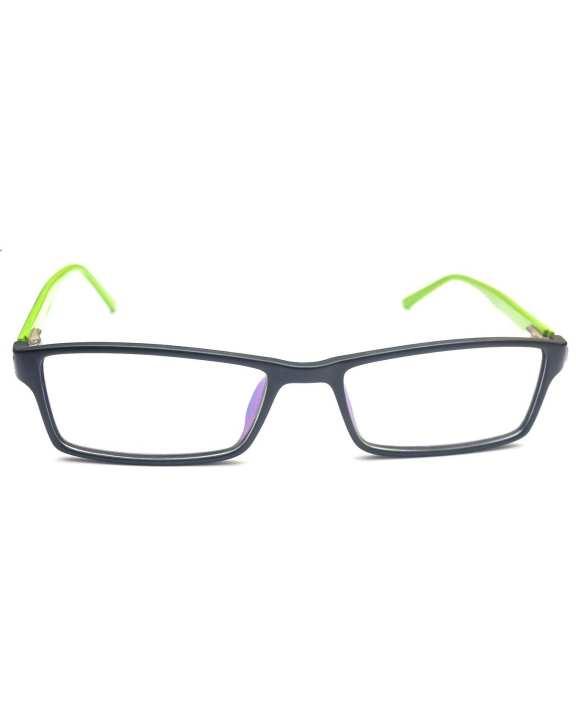 Spectacle Frame - Black & Green
