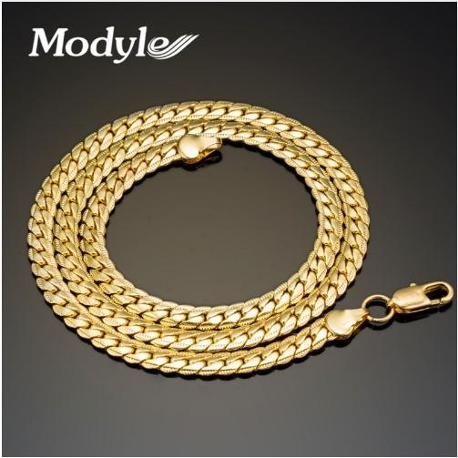 Men's Gold Plated Necklace