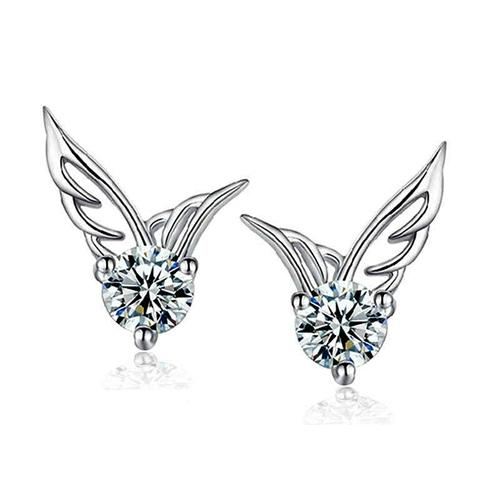 Women's Silver Plated Earring